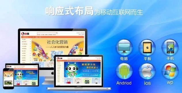 烟台新睿小编浅谈响应式网站和自适应网站